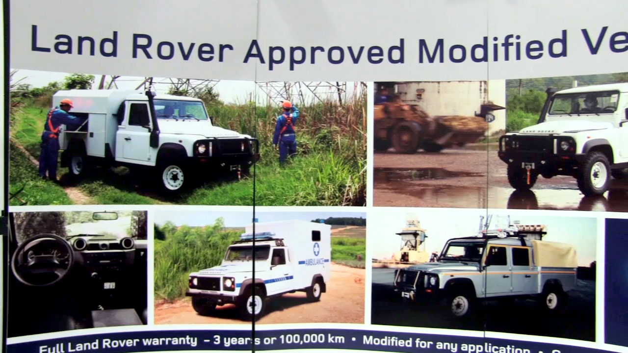 Land Rover at Aid & International Development Forum in Washington DC